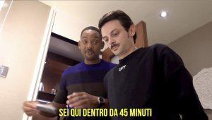 Rovazzi e Will Smith nella stessa stanza d'albergo a Budapest