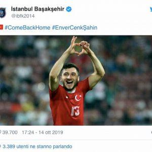 Sahin licenziato squadra Erdogan pubblica offerta su Twitter