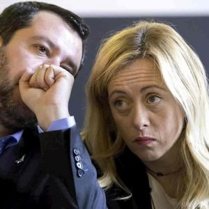 Salvini più Meloni valanga che ingrossa. M5S perde come gomma bucata