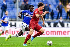 Sampdoria Roma Vieira cori razzisti tifosi giallorossi