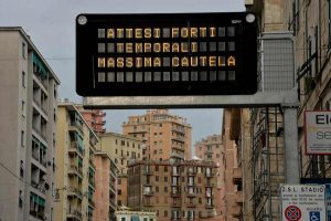 Sampdoria Roma rinviata maltempo c'è ancora rischio allerta arancione