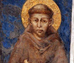 Santa Chiara rattoppò la tonaca di San Francesco con le pezze del suo mantello