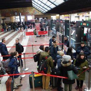 La stazione di Santa Maria Novella, Ansa