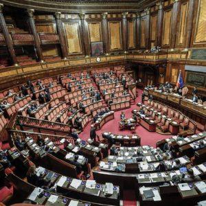 L'aula del Senato, Ansa