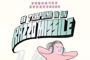 Si trasforma in un razzo missile, la copertina del libro di Stefano Di Trapani