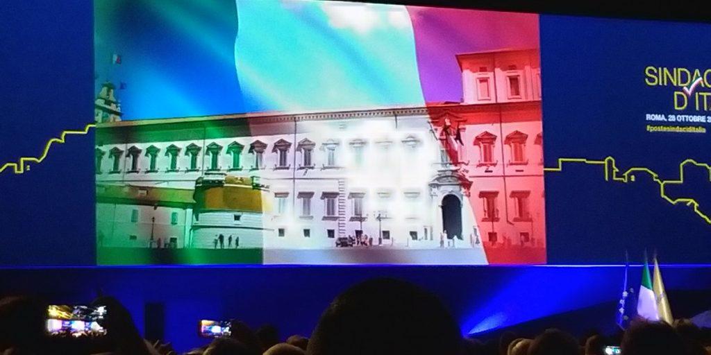 presentazione evento sindaci d'italia poste italiane