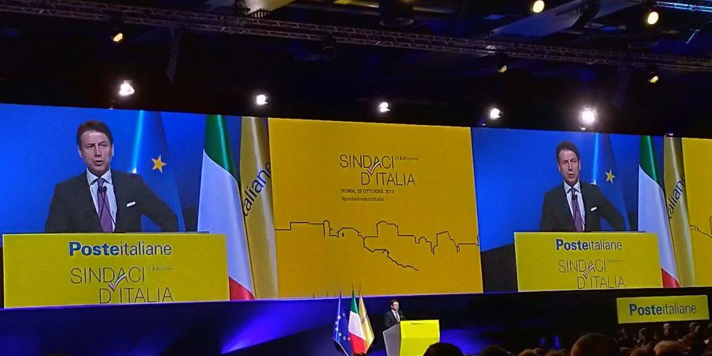 intervento conte evento poste italiane