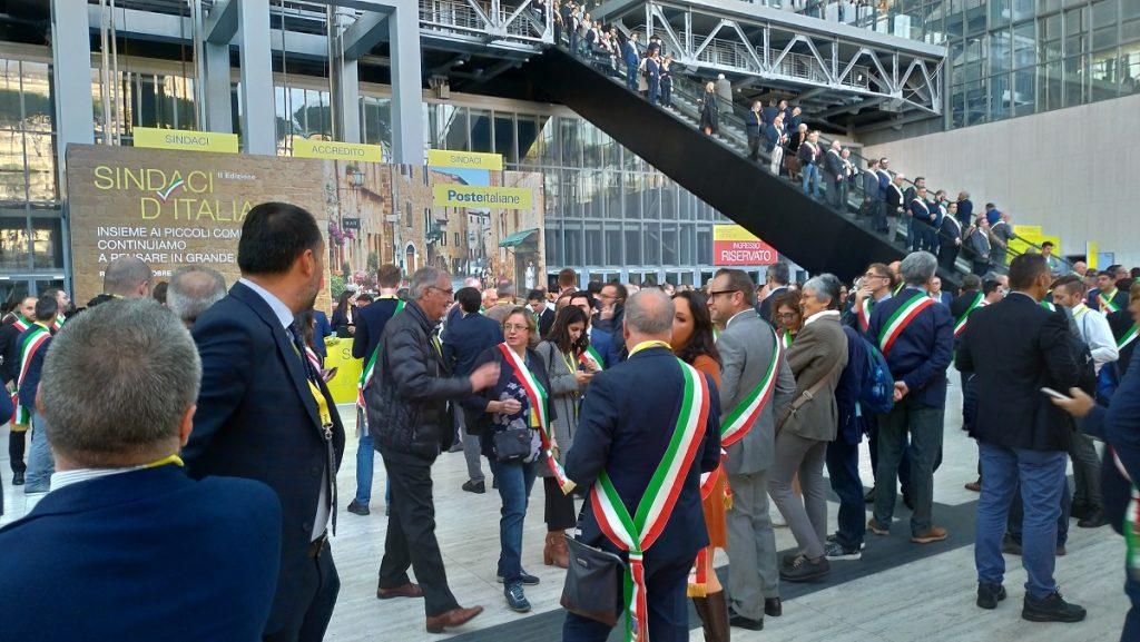 I sindaci all'evento di Poste Italiane (Blitz Quotidiano)