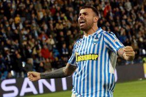 Spal Parma 1 0 pagelle Petagna gol Strefezza espulso