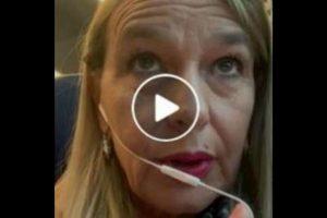 """Stefania Pucciarelli (Lega): """"Io unica italiana su treno pieno di stranieri senza biglietto"""" VIDEO"""