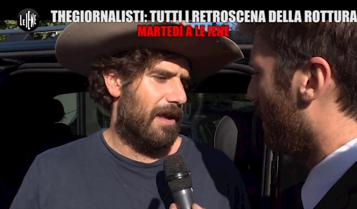 Le Iene, Tommaso Paradiso e il rapporto con i TheGiornalisti