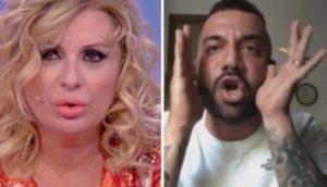 """Uomini e Donne, Er Faina pubblica le chat col figlio di Tina: """"Non gli ho mai detto figlio di..."""" 02"""