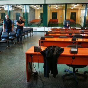 Un'aula di Tribunale, Ansa