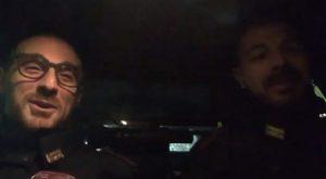 Un frame del video girato dai due poliziotti uccisi negli uffici della Questura di Trieste