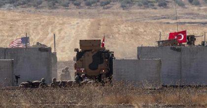 siria turchia curdi foto ansa