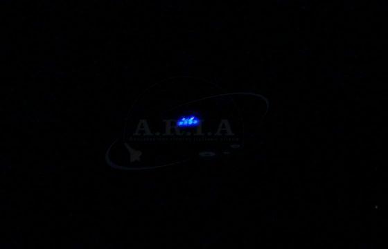 UFO nei cieli di Sondrio, misterioso oggetto luminoso VIDEO