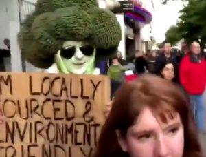 """Londra, arrestato """"l'uomo broccolo"""""""