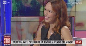 """Storie Italiane, Valentina Pace: """"Ora non lavoro, faccio la mamma a tempo pieno"""""""