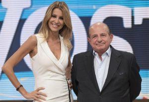 Adriana Volpe e Giancarlo Magalli, Ansa
