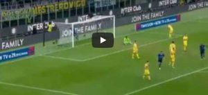 Barella gol Inter Verona 2 1 video YouTube