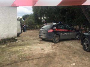 carabinieri luogo omicidio suicidio cerignola