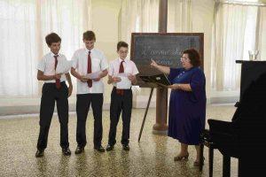 il collegio lezione di canto