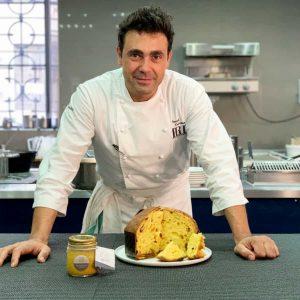 Il panettone MI.O di Daniel Canzian con pasta di arance arrosto