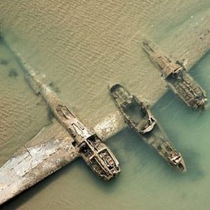 Aereo Usa incastonato costa Galles dal 1942