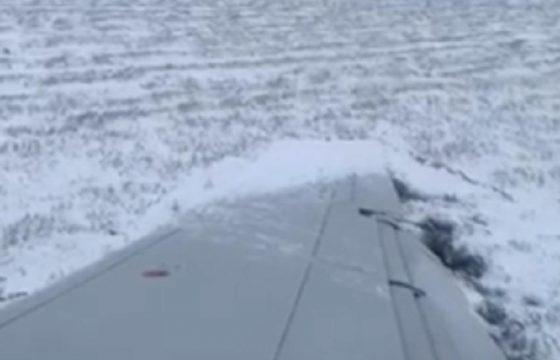 aereo fuori pista chicago