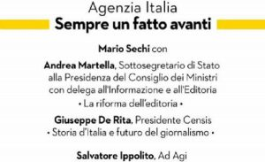 Editoria 5.0, il futuro dell'informazione in Italia all'evento organizzato da Agi a Milano il 2 dicembre