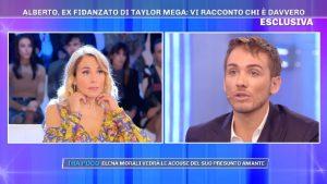 Taylor Mega, Alberto De Pisis ex fidanzato gay a Pomeriggio 5