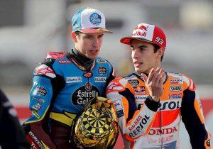 Alex con Marc, fratelli Marquez alla Honda: storico in MotoGp