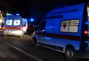 Un'ambulanza, Ansa