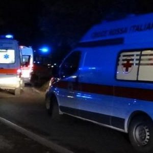 Un'ambulanza, Ansa