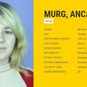 Anca Maria Murg, latitante da 9 anni arrestata a Scafati. Uccise un giovane col tacco della scarpa