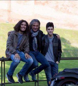 Andrea, Franco e Antonello (foto Facebook)
