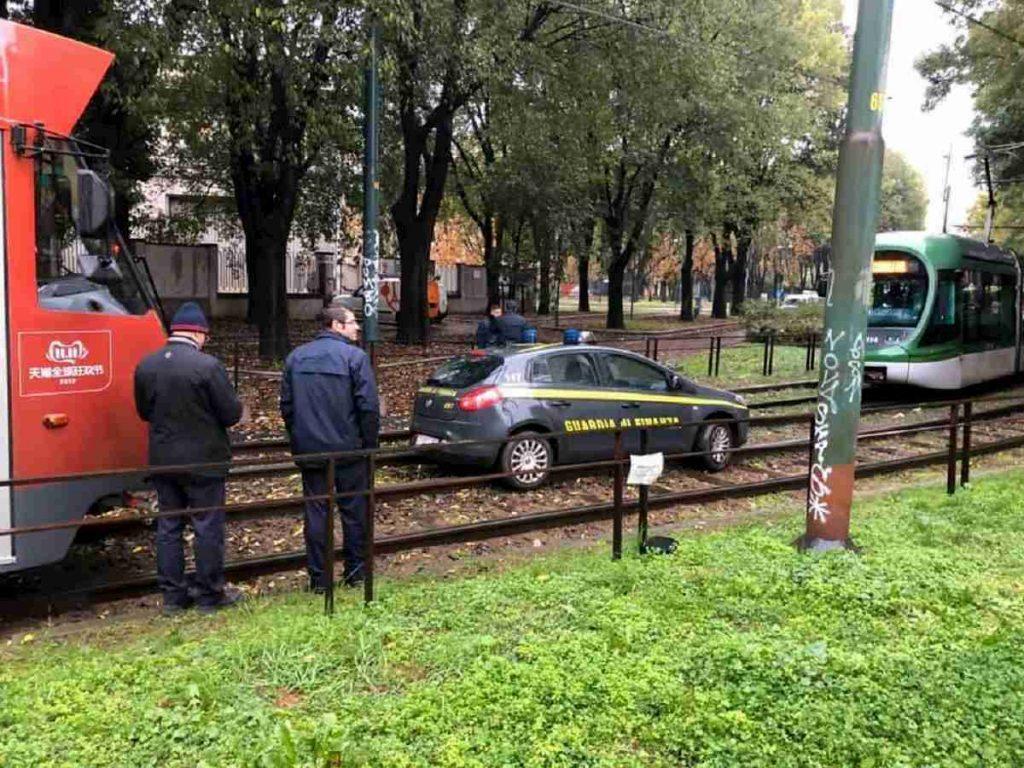 auto finanza rotaie tram