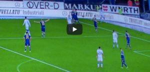 Balotelli Verona Brescia video YouTube calcia pallone tribuna minaccia andarsene