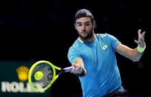 Matteo Berrettini nella storia del tennis italiano: è il primo a vincere una partita alle Finals