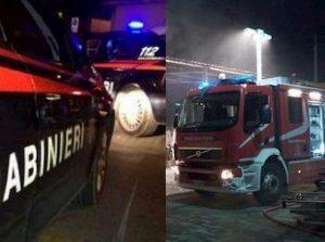 Castel Frentano, picchiano 2 pompieri e 2 carabinieri: padre e figlio ai domiciliari