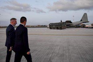 Attentato Iraq, atterrati a Ciampino i cinque militari feriti: ora il trasferimento al Celio