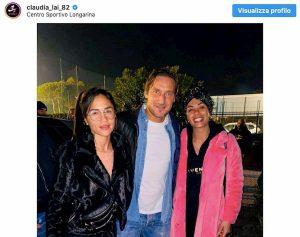 Claudia Riana Nainggolan da Totti, foto Instagram
