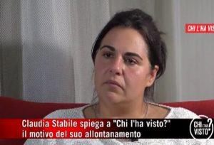 Claudia Stabile, Chi l'ha Visto