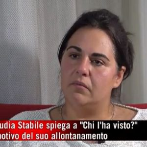 Claudia Stabile, Chi l'ha Visto