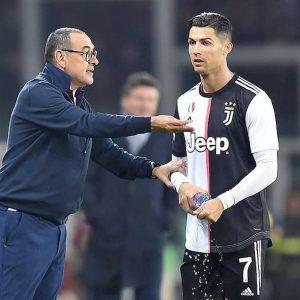 """Atalanta-Juventus senza Cristiano Ronaldo. Sarri: """"Non gioca al 99%"""""""