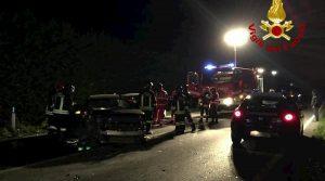 Cuneo, incidente sulla Bovesana: un morto, quattro feriti