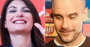 """Pep Guardiola a Ilaria D'Amico: """"Io alla Juve? Dovevate fare meglio il vostro mestiere di giornalisti"""""""