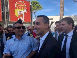 """Luigi Di Maio sull'Ilva: """"Su scudo penale i miei al Senato non li tengo""""."""