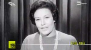 Elda Lanza, morta a Castelnuovo Scrivia la prima presentatrice Rai e signora del giallo italiano