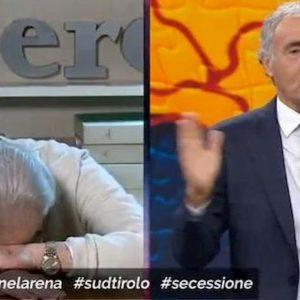 """Vittorio Feltri dopo la lite con la De Girolamo e la Biancofiore a Non è l'Arena: """"Due straccione incolte"""""""